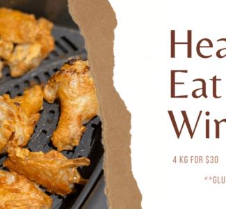 Heat N' Eat Wings slider